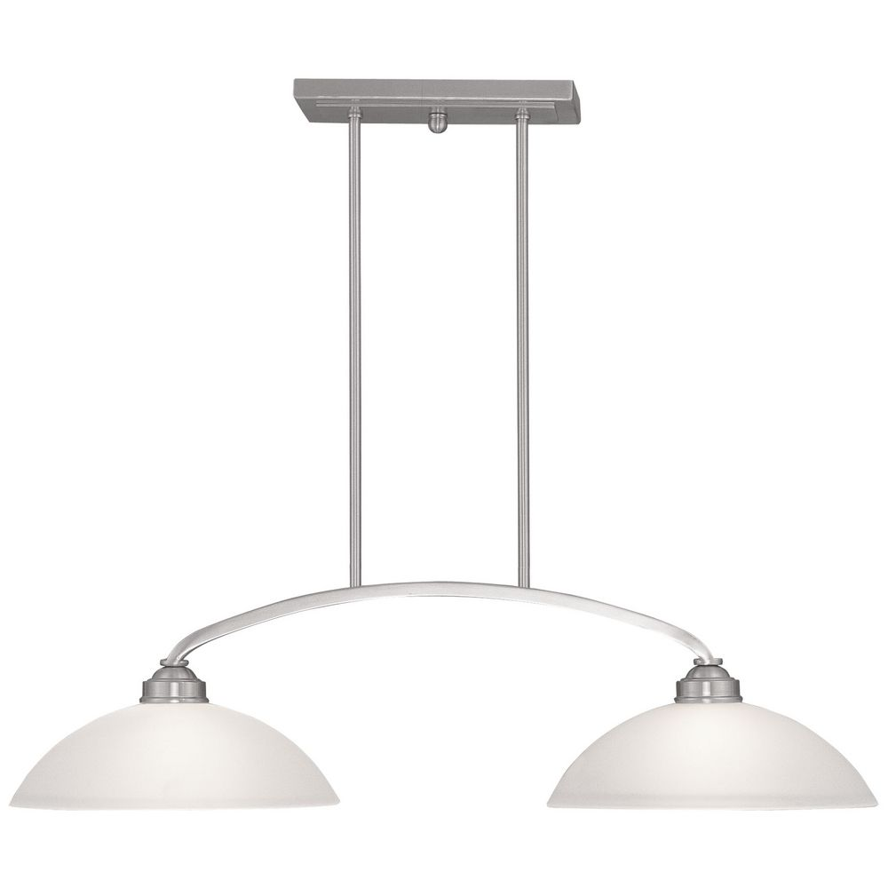 pretty Livex Lighting Somerset Brushed Nickel Billiard Light with Bowl shade for home lighting ideas