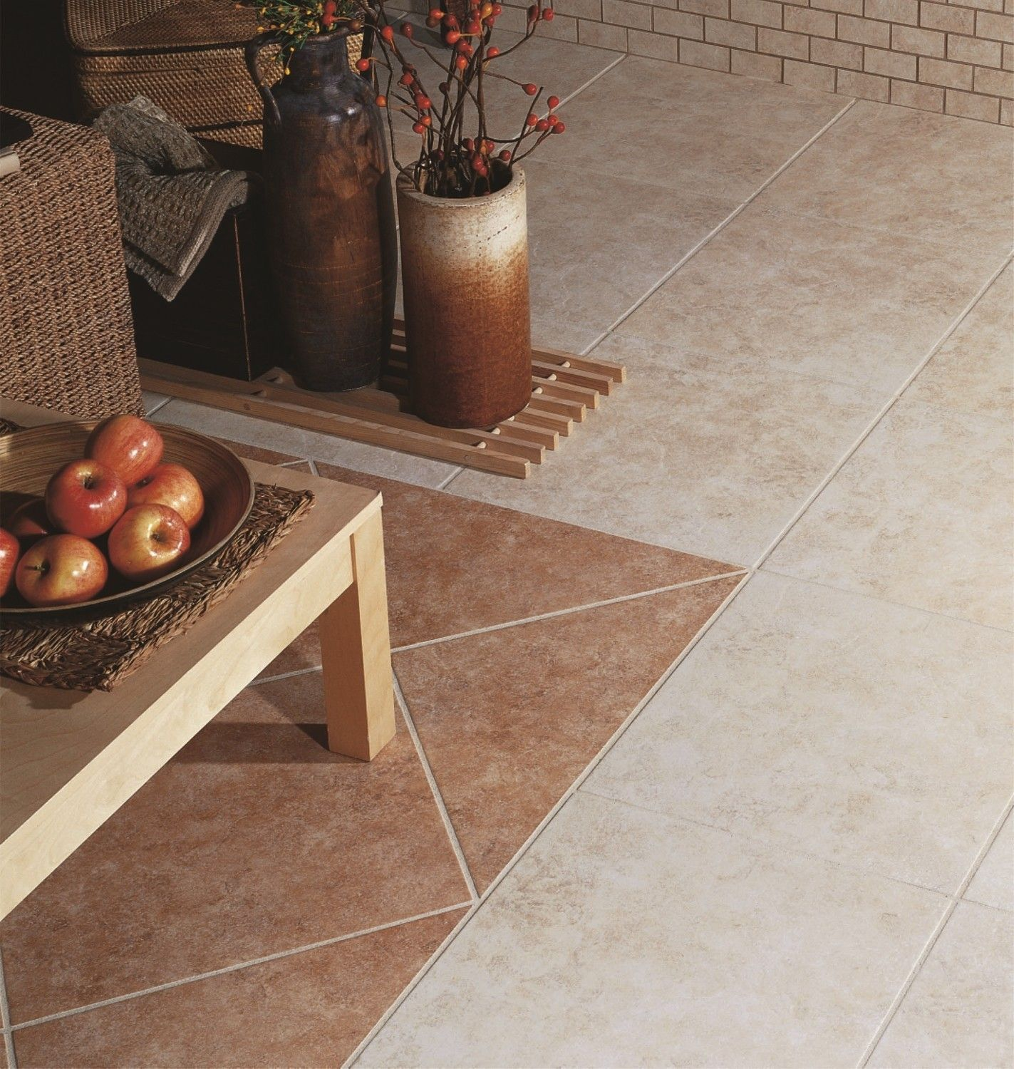 Puebla Tepeji Gold tile floor by interceramic tile for interior design ideas
