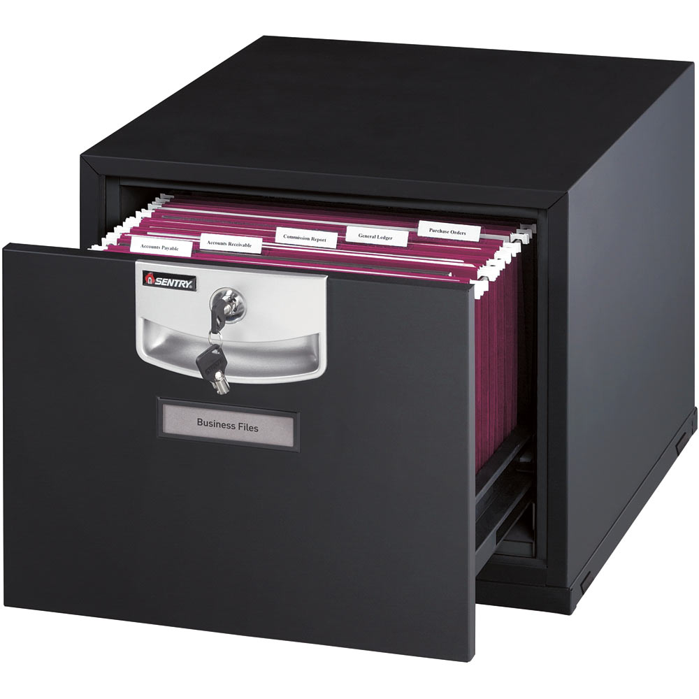 Sentry U Stack U2101 1 Drawer Fireproof File Cabinet Safe Runner For Home Office Furniture Ideas