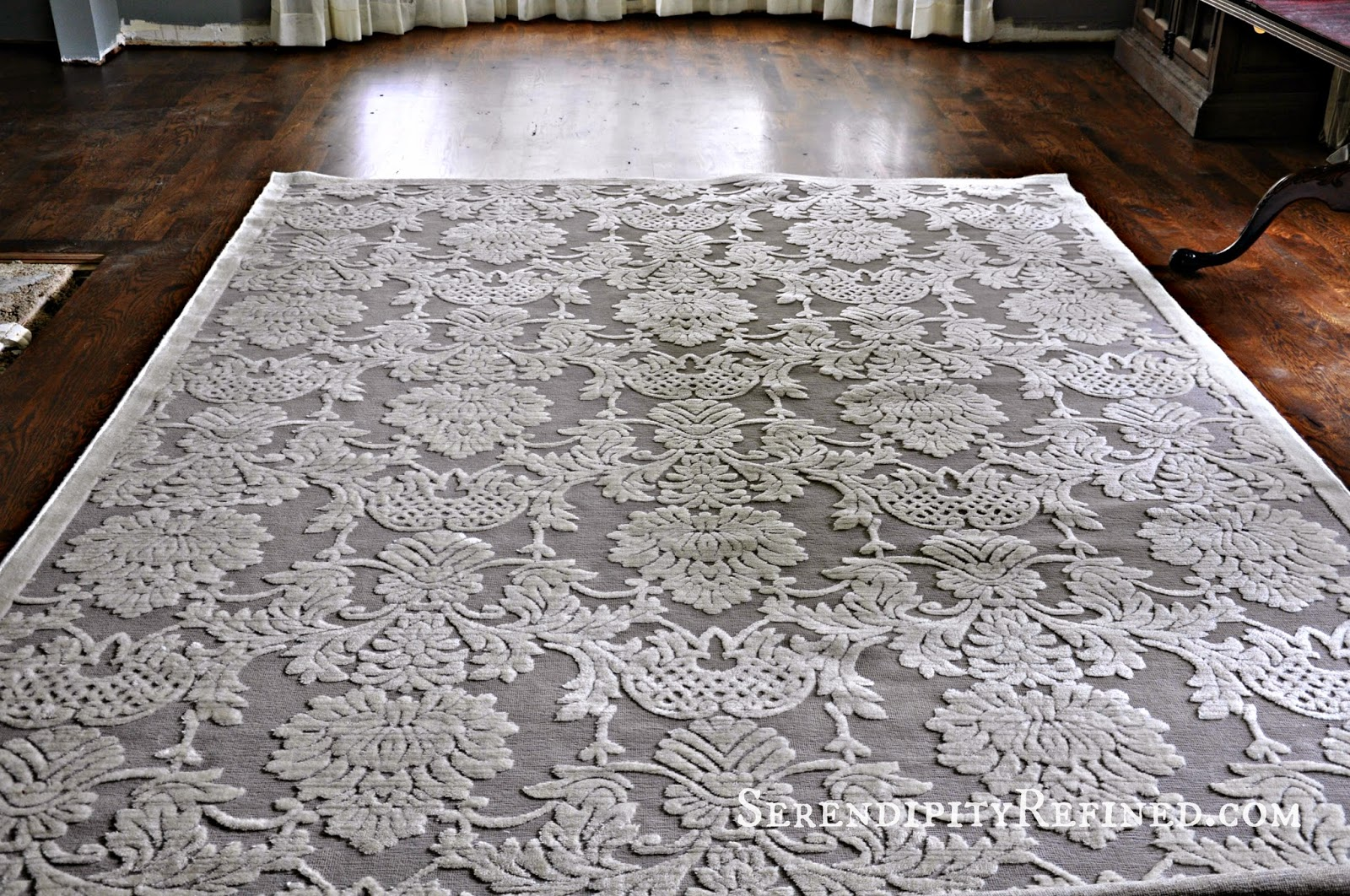 Serendipity Refined Blog Gray and Ivory rug by nourison rugs for floor decor ideas