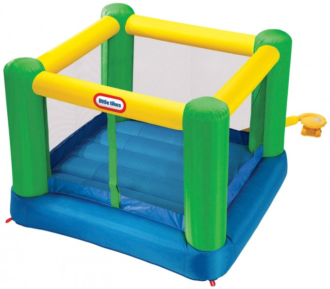 Square Little Tikes Bounce House Made Of Caoutchouc For Kids Play Room Ideas