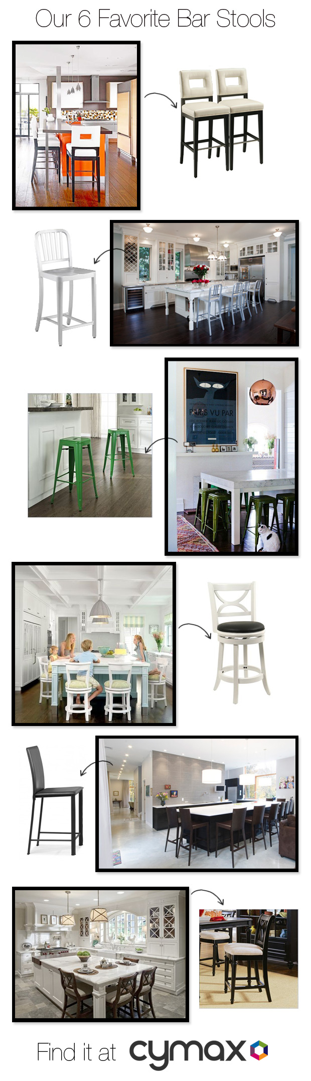 the 6 Favorite cymax bar stools for home furniture ideas