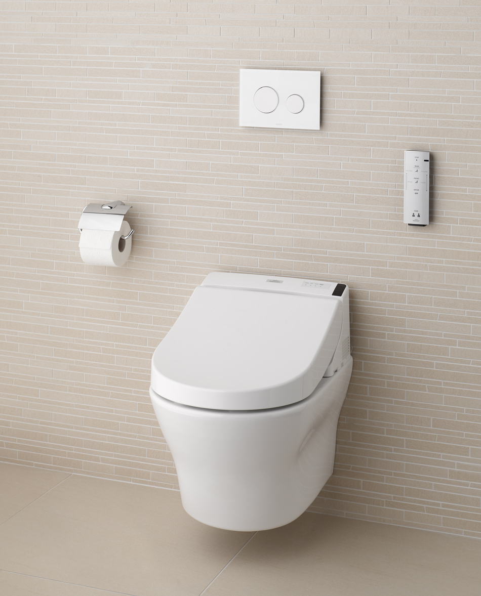 toto washlet GL 2 0 with hidden connections for smart bathroom furniture ideas