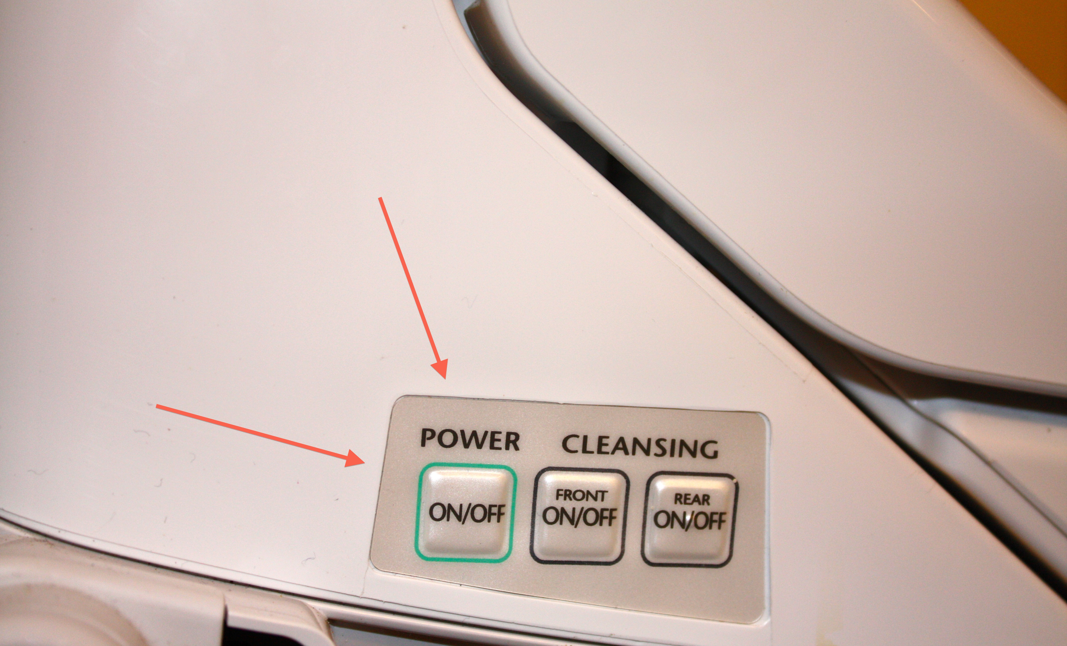 Toto Washlet S300 Button For Hand Free Wash Ideas