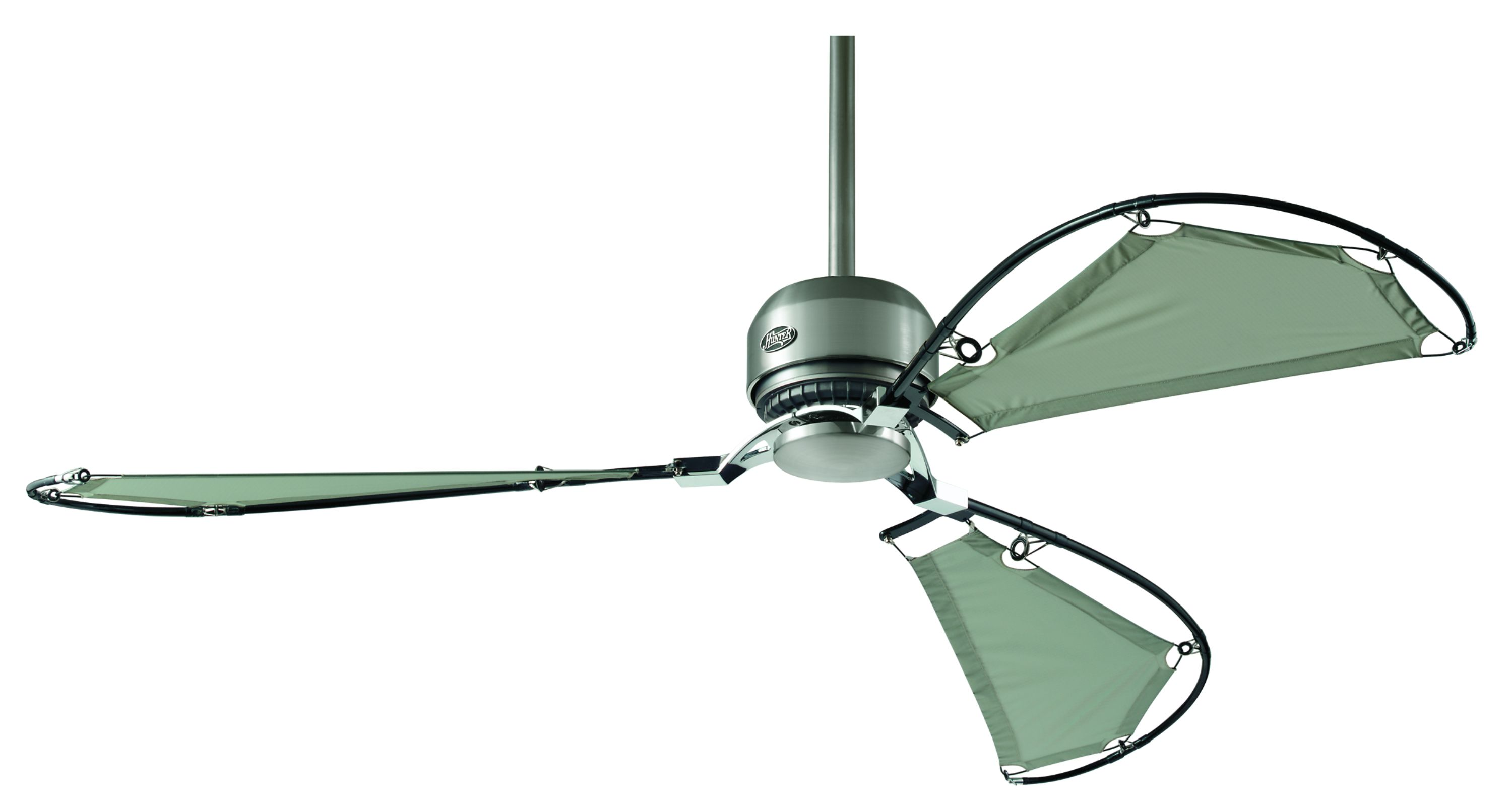 unique casablanca ceiling fans in triple blade slinger for ceiling decor ideas
