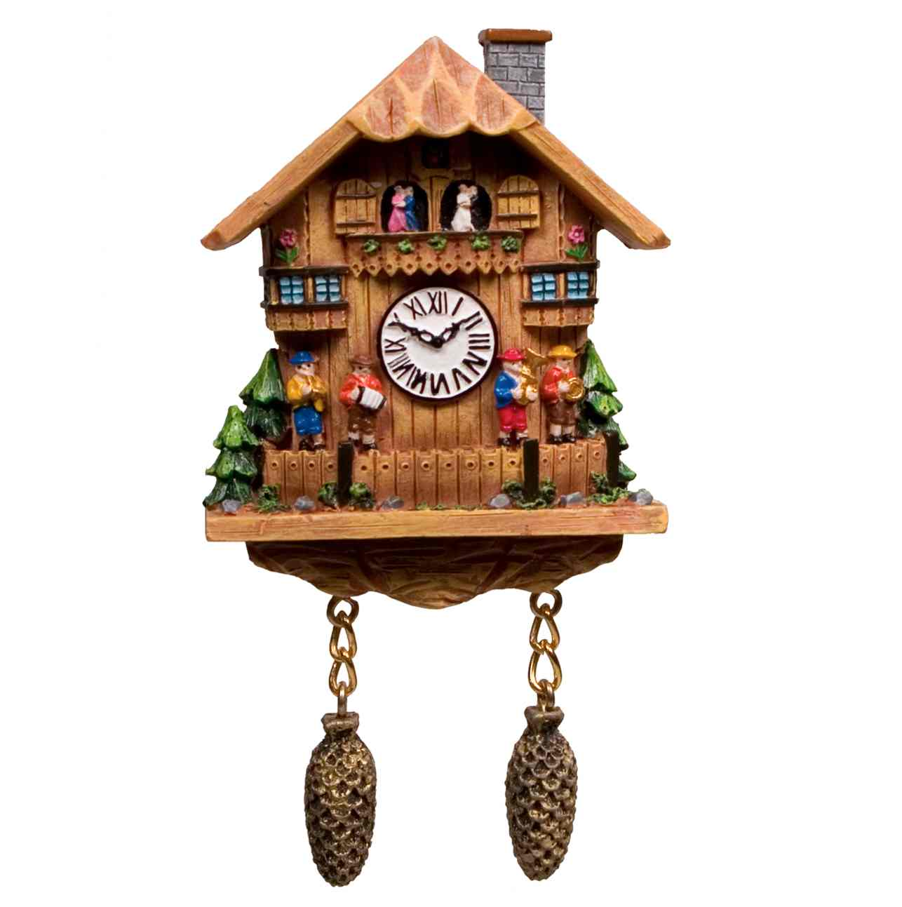 unique cuckoo clock made of wood in home design for home accessories ideas