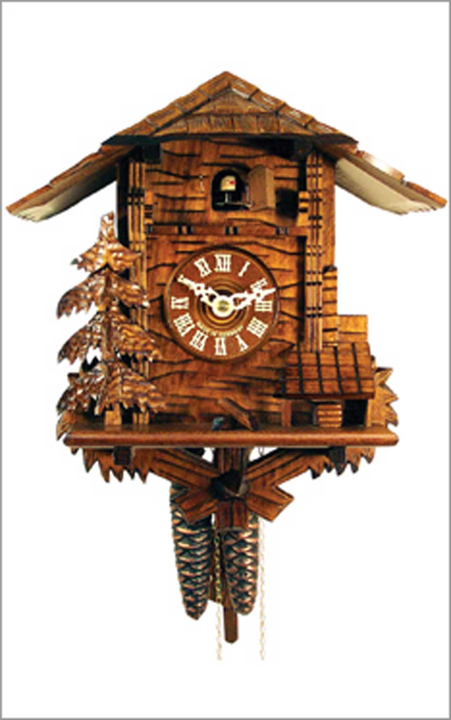 Unique Nature cuckoo clock in brown and home design for home accessories ideas