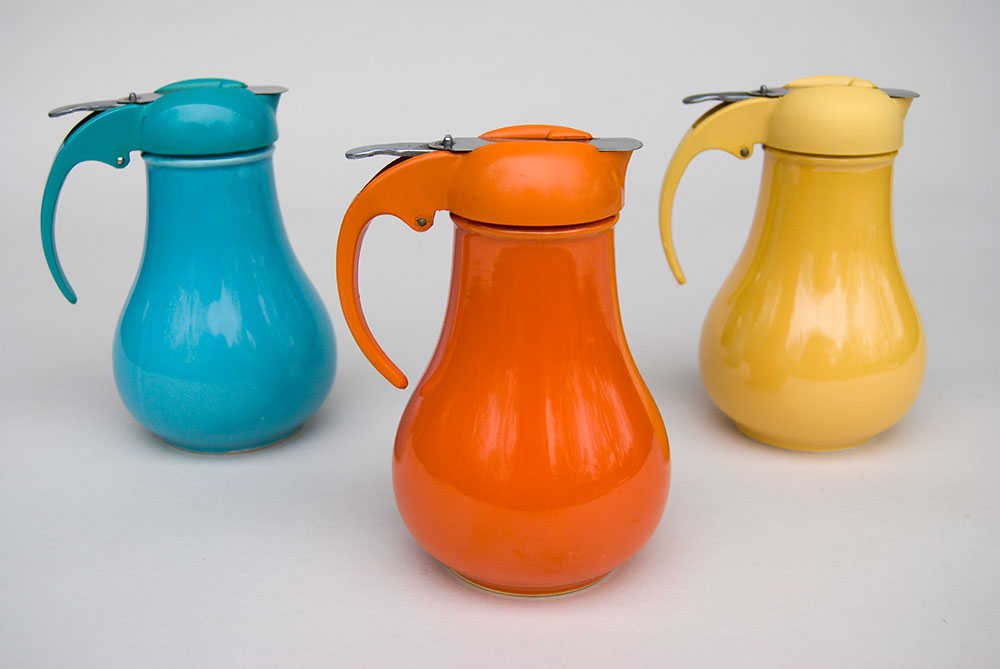 Awesome Collections Of Fiestaware For Dinnerware Ideas: Vintage Fiestaware Syrup Radioactive Red Turquoise Rare For Drinkware Ideas