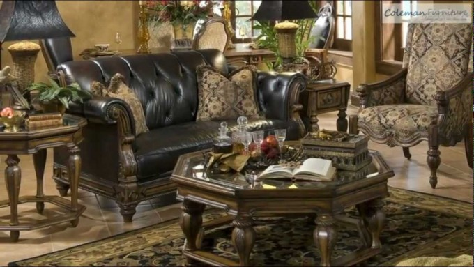 Vizcaya Living Room Collection From Aico Furniture For Wonderful Living Room Ideas