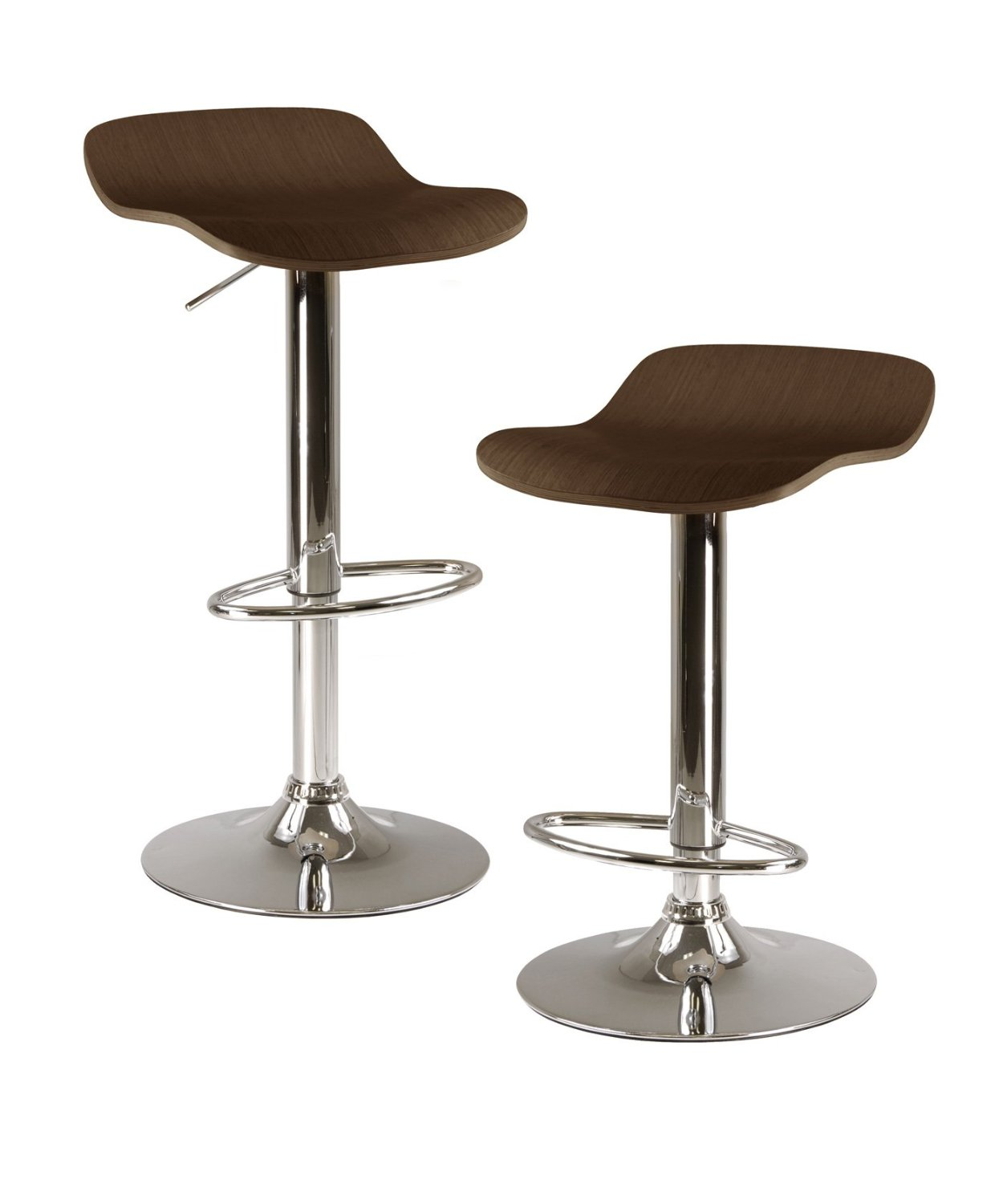 Winsome Wood Kallie Air Lift Adjustable cymax bar stools for inspiring furniture ideas