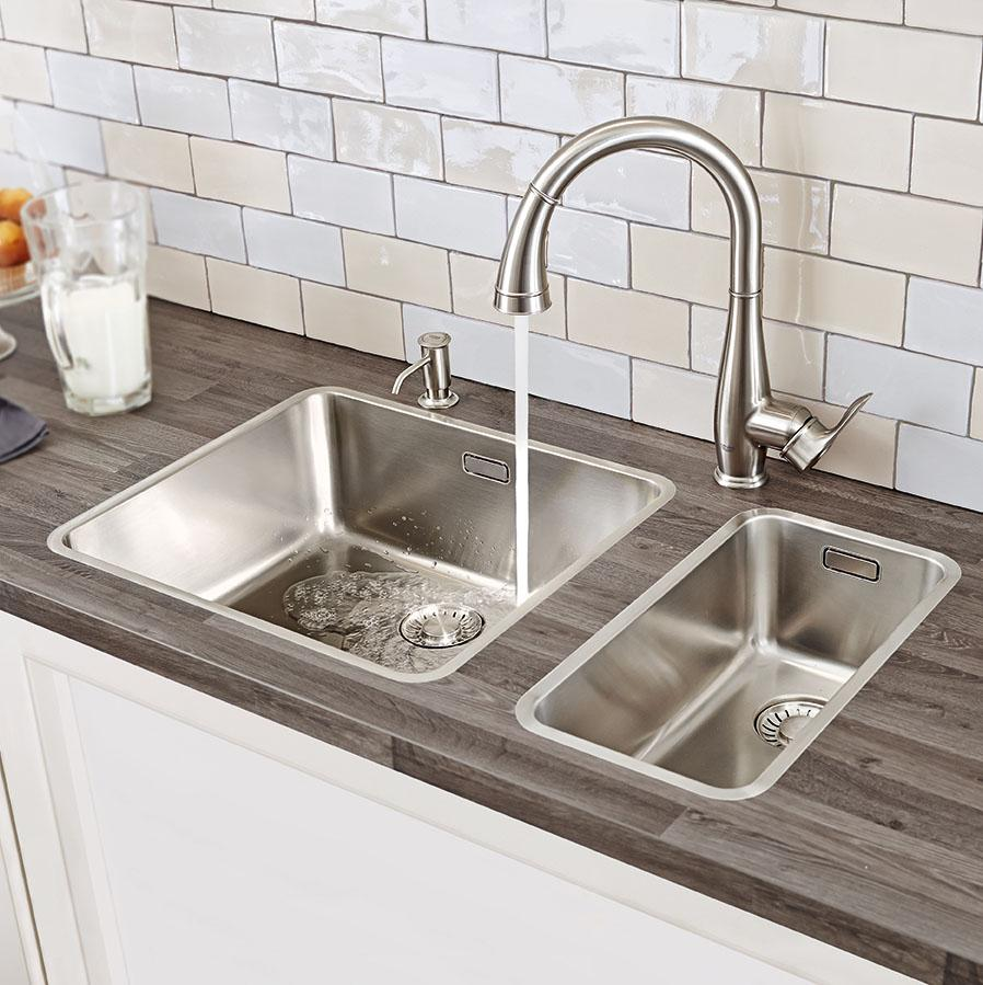wonderful 30213DC0 Parkfield Pull down Spray head Kitchen Faucet by grohe faucets before tile backsplash for kitchen decor ideas