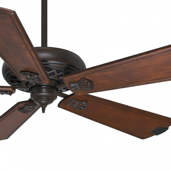 Wonderful Casablanca Ceiling Fans In Five Brown Wooden Blade Slinger For Ceiling Decor Ideas