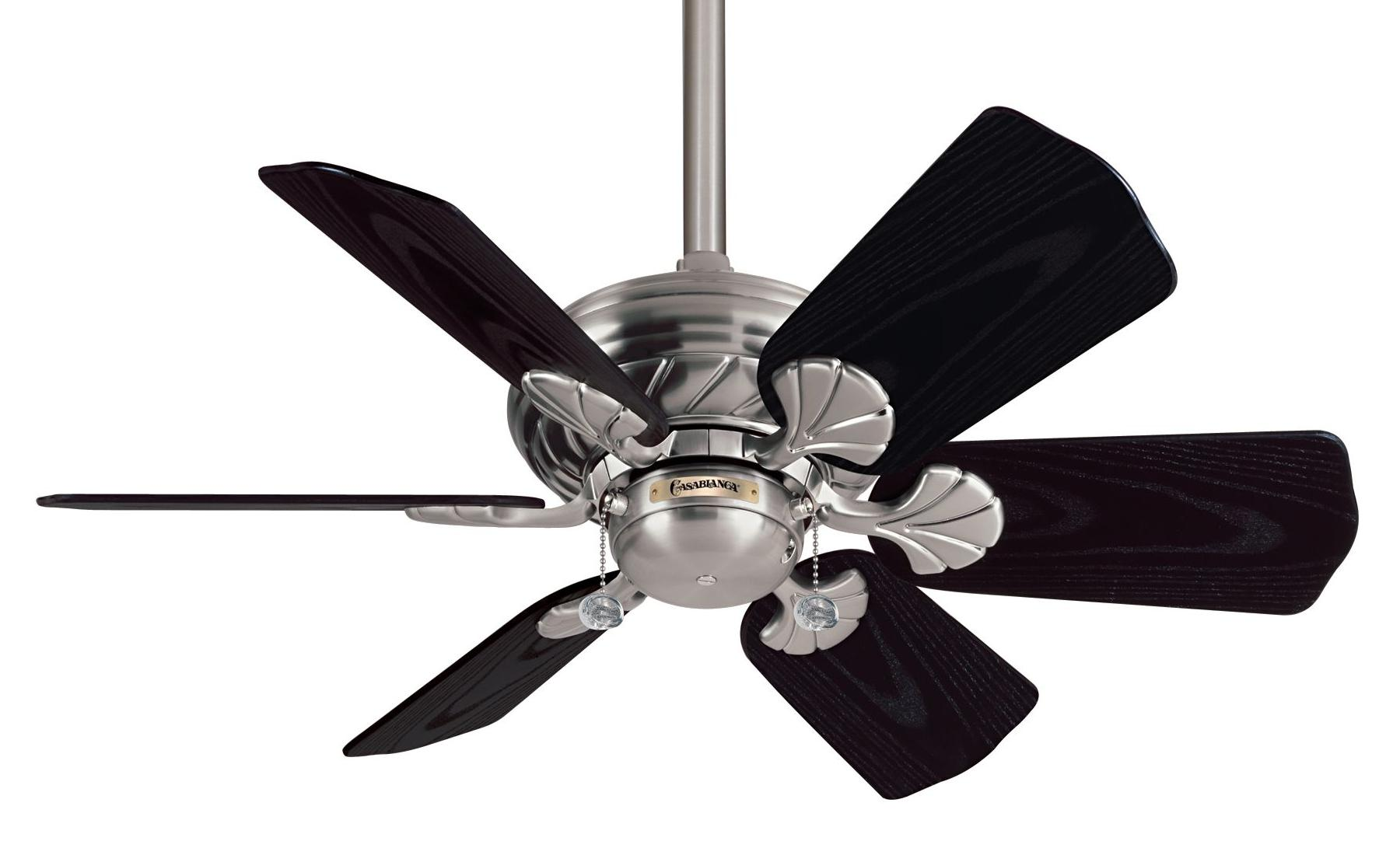 wonderful Casablanca Ceiling Fans n six black blade slinger for ceiling decor ideas