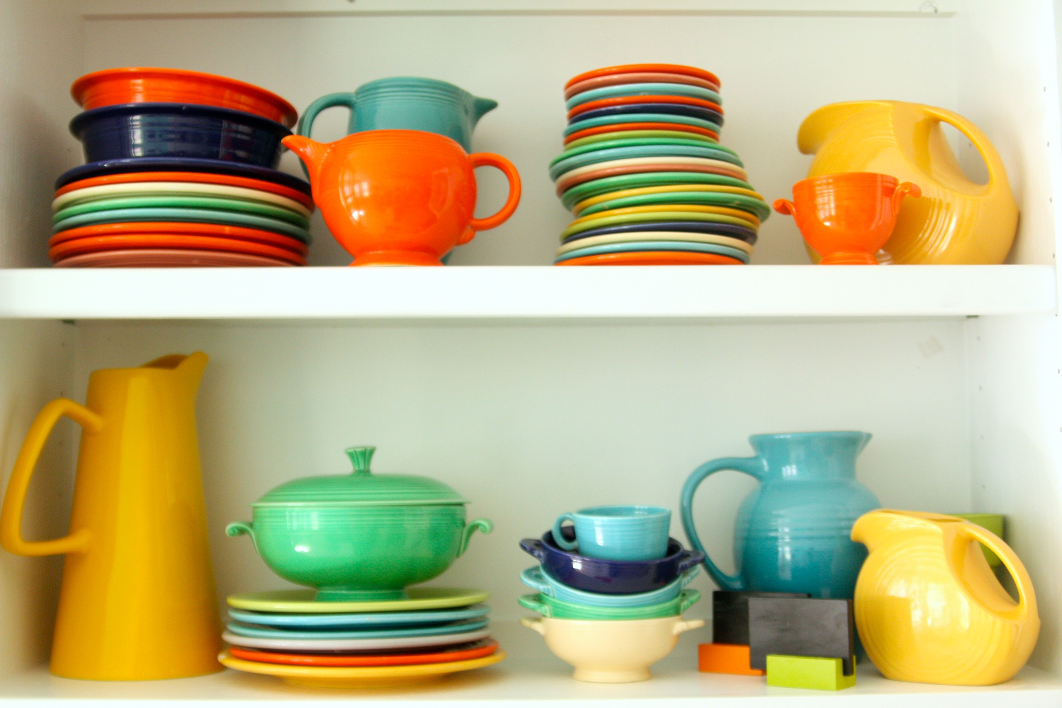 wonderful collections of fiestaware for dining ideas