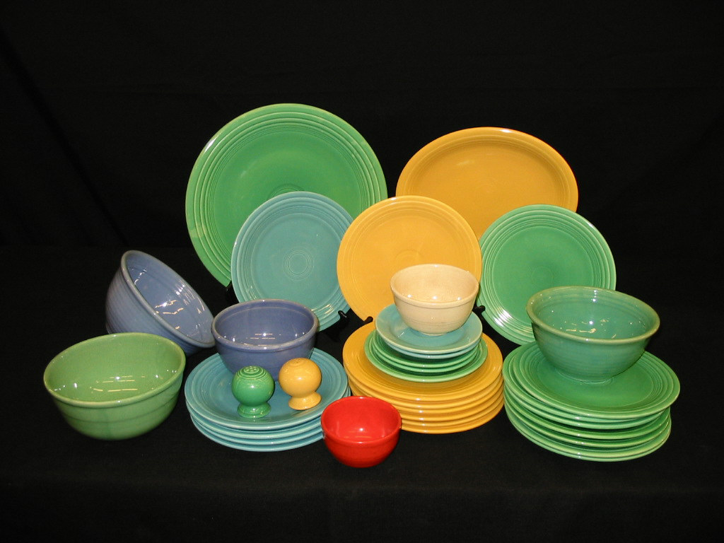Awesome Collections Of Fiestaware For Dinnerware Ideas: Wonderful Collections Of Fiestaware For Dinnerware Ideas