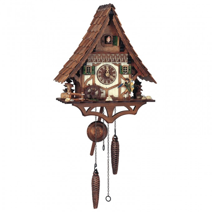 Wonderful Cuckoo Clock In Brown With Home Design For Home Furniture Ideas