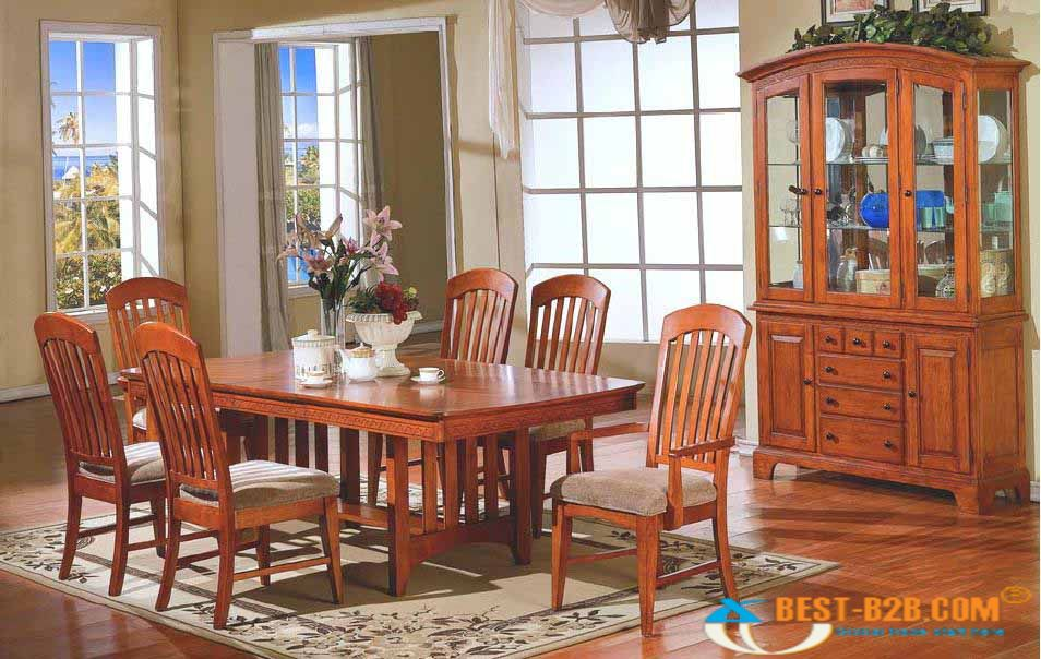 wonderful dining table set by broyhill furniture on wooden floor with floral rug for dining room decor ideas
