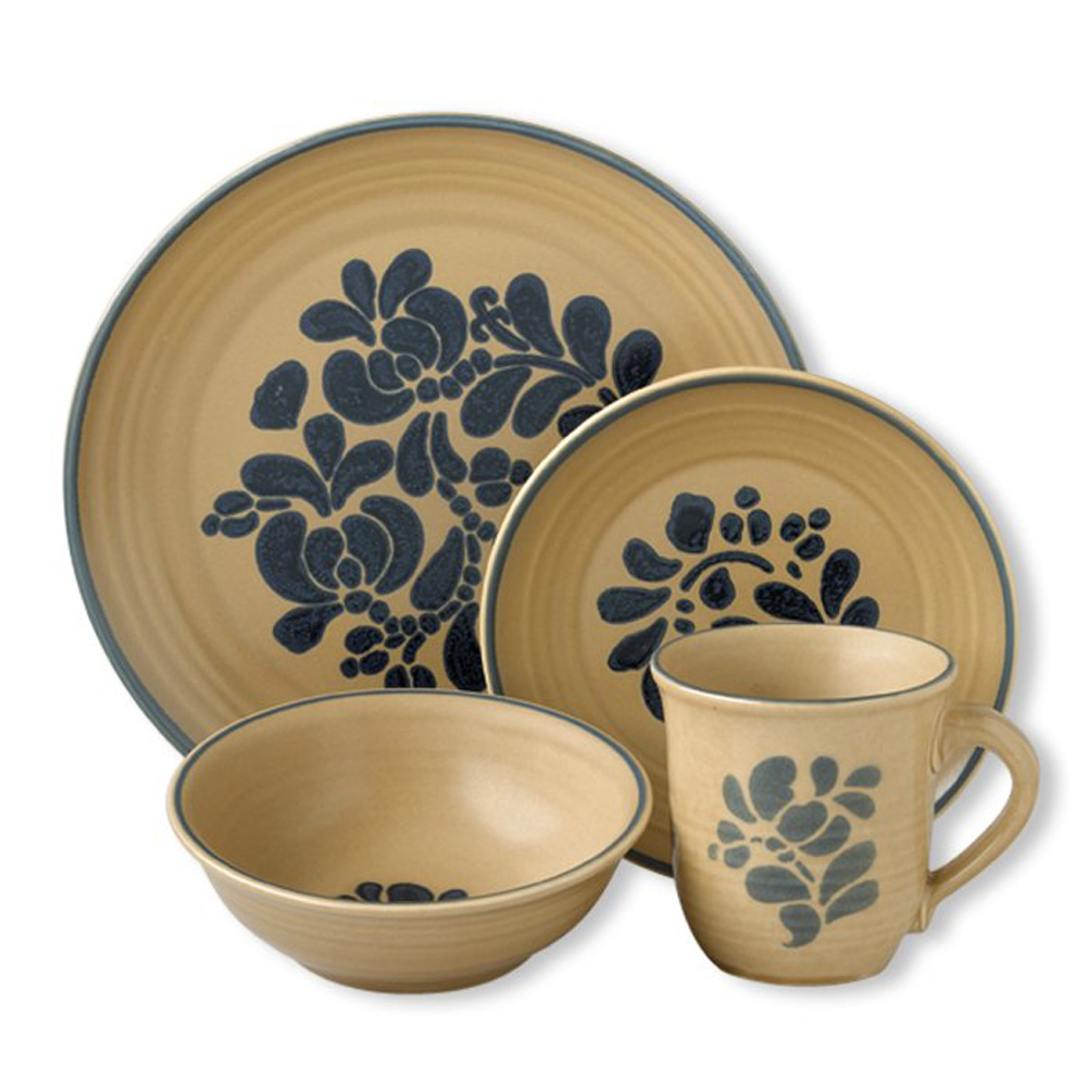 Wonderful Dinnerware Set In Cream With Floral Pattern By Pfaltzgraff For Dinnerware Ideas