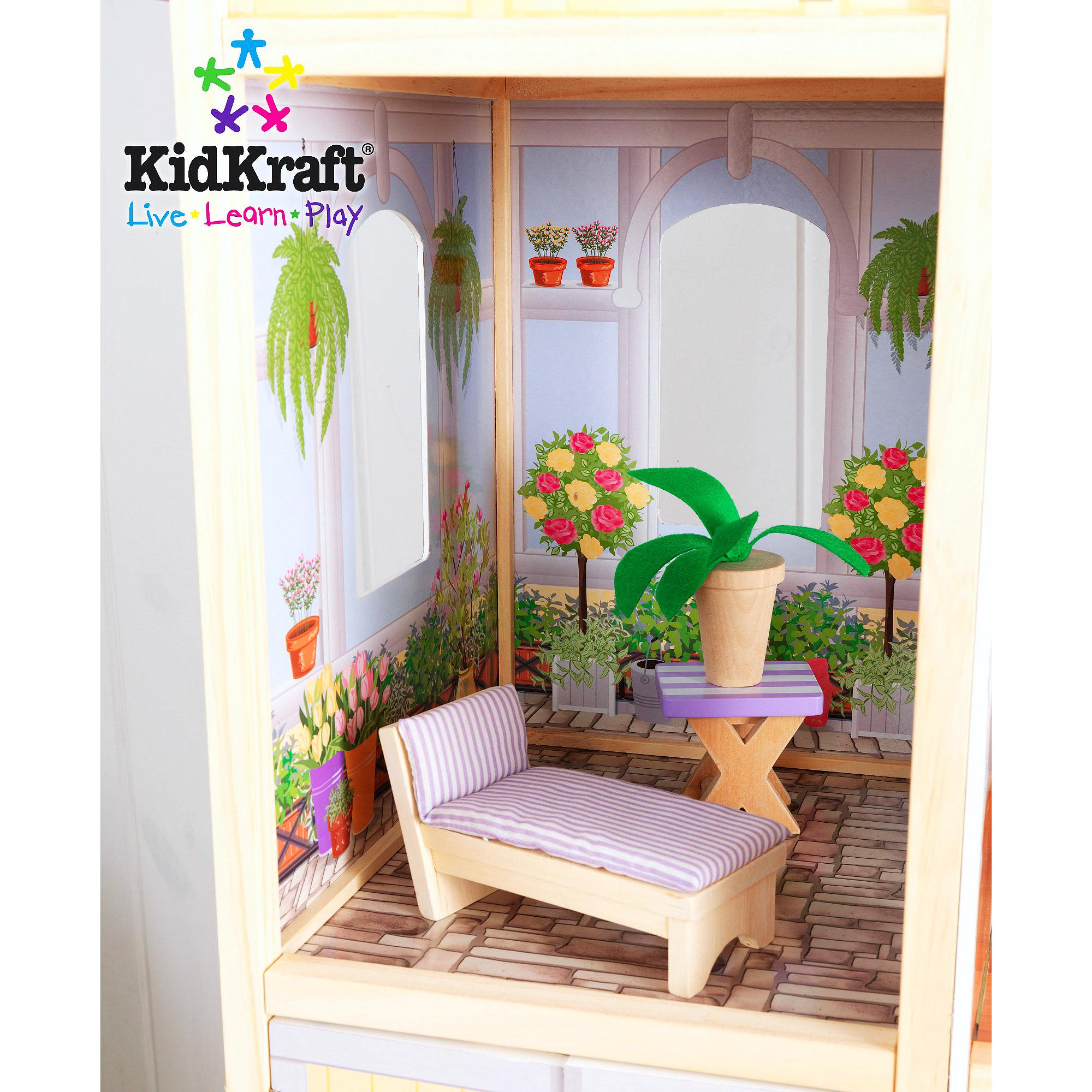 wonderful kidkraft majestic mansion dollhouse 65252 made of wood with kidkraf furniture for kids play room furniture ideas