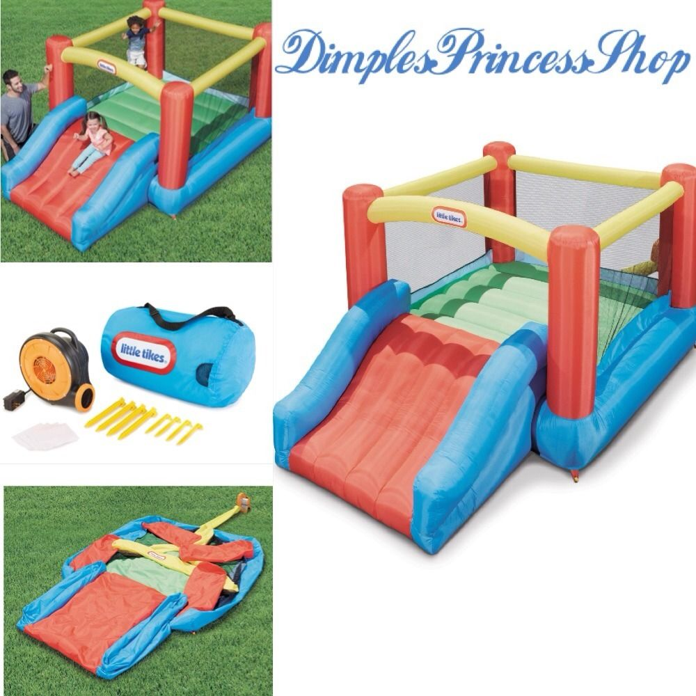 Fancy Little Tikes Bounce House For Play Yard Ideas: Wonderful Little Tikes Bounce House Made Of Caoutchouc By Dimples Princess Shop