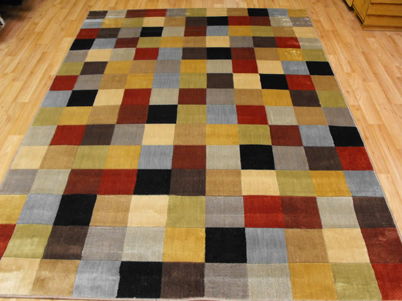 wonderful nourison rugs in checked multicolor pattern for floor decor ideas