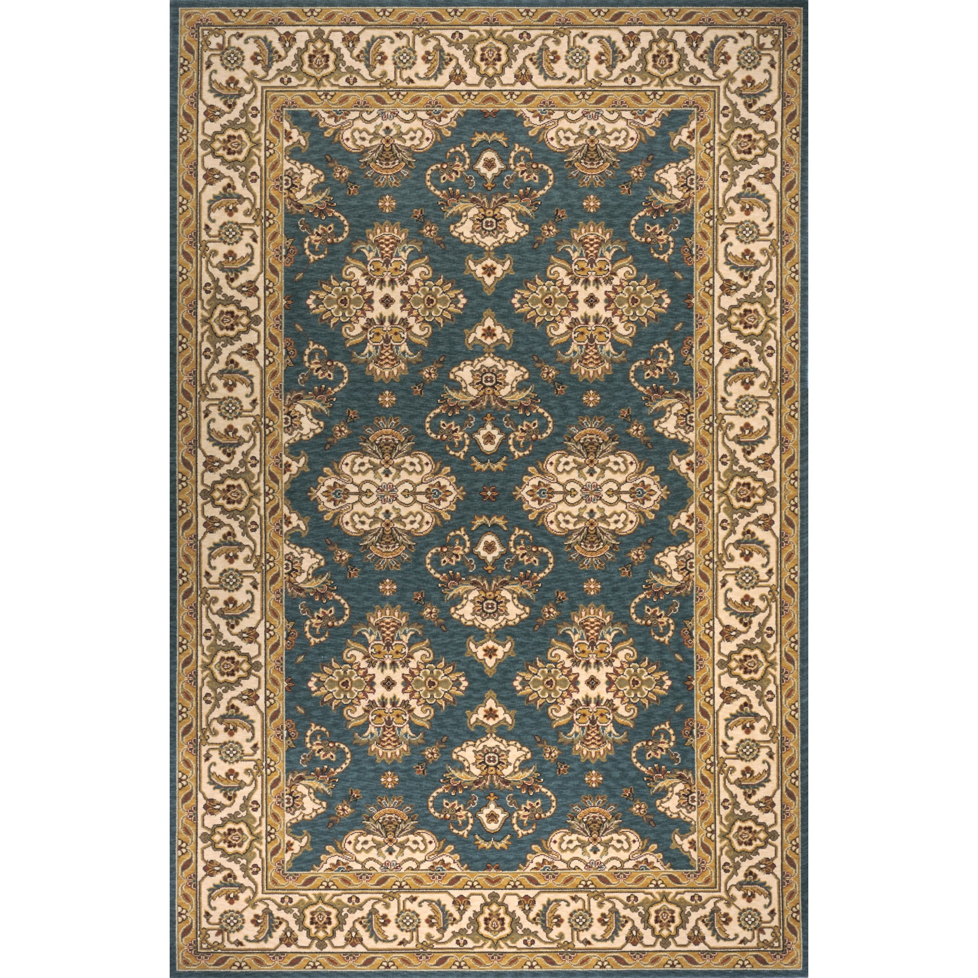 Have A Cool Floor With Momeni Rugs Ideas: Wonderful Persian Garden Teal Blue Rug By Momeni Rugs For Floor Decor Ideas