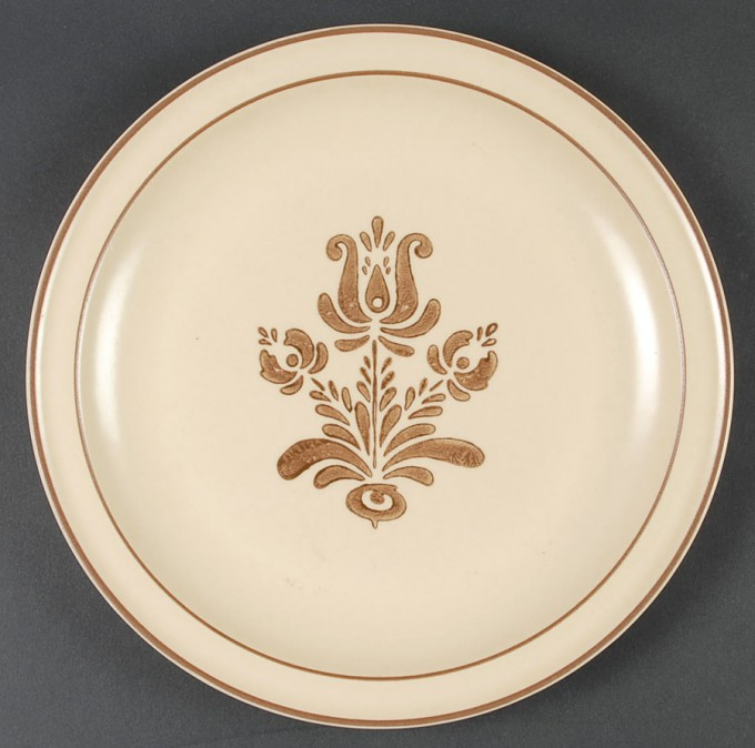 Wonderful Plate In Cream With Flower Motif By Pfaltzgraff For Dinnerware Ideas