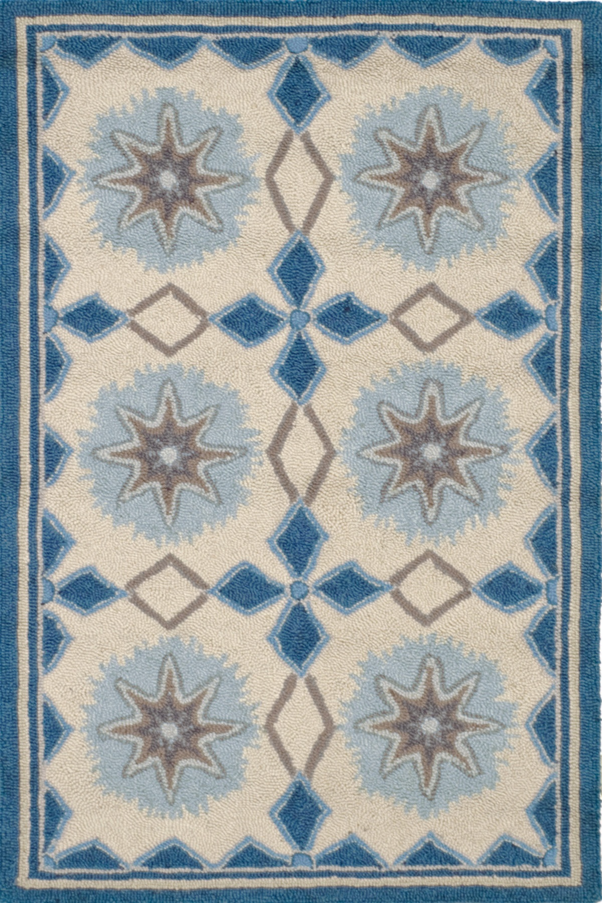 wonderful square Dash And Albert Rugs with blue dominant color for floor decor ideas