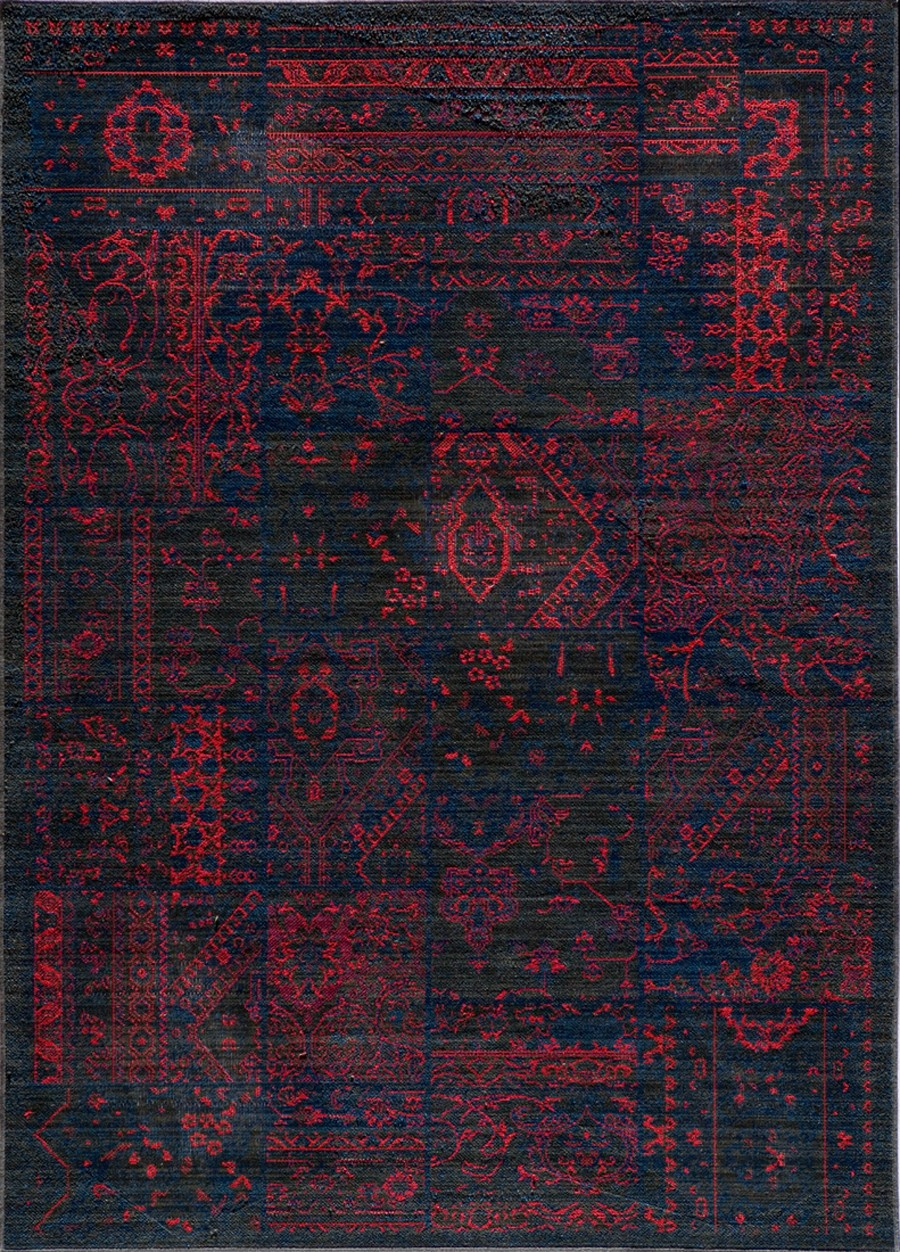 Have A Cool Floor With Momeni Rugs Ideas: Wonderful Vintage Raspberry VIN 5 Rug By Momeni Rugs For Floor Decor Ideas