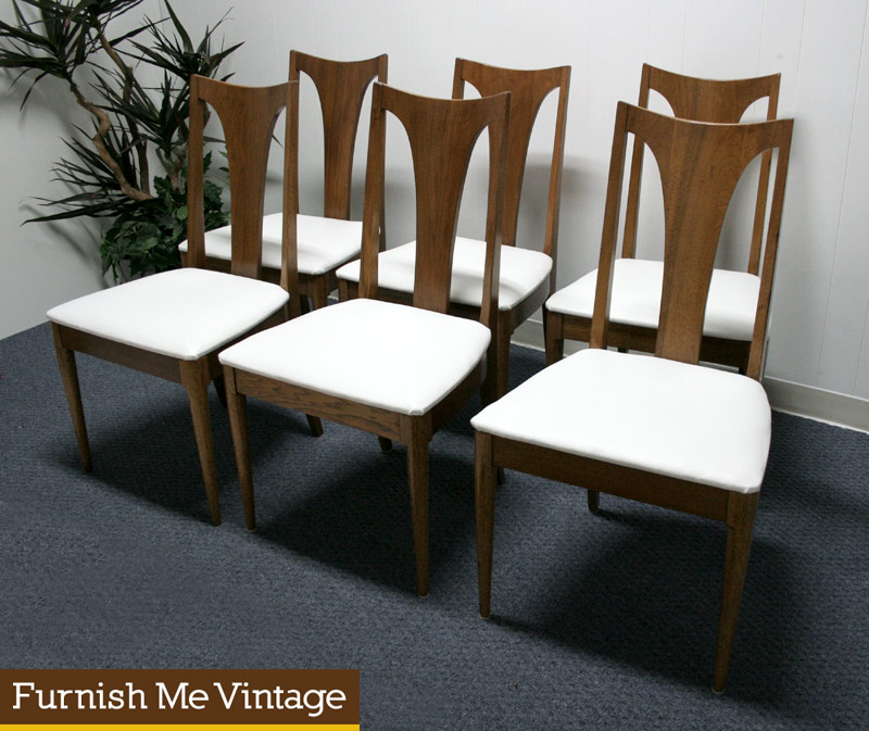 wonderful wooden dining chairs with white seat by broyhill furniture for dining room furniture ideas